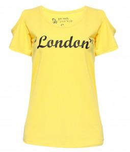 Áo thun in chữ London